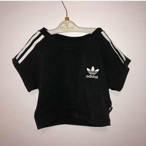 Adidas crop top!